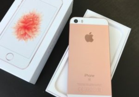 iPhone SE 64GB Roze / rose gold / nieuwstaat!